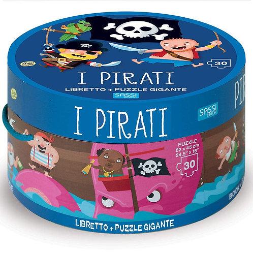 Pirati. Ediz. illustrata. Con puzzle (Italiano) Cartonato – 31 ottobre 2019
