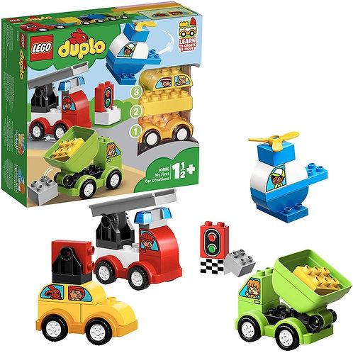 LEGO Duplo My First, i Miei Primi Veicoli Set di Costruzioni per Giocare, 10886