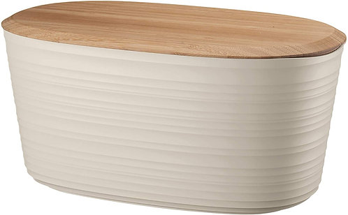 Guzzini Tierra Cestino Pane, Post Consumed Recycled Poliestereastic, Bamboo