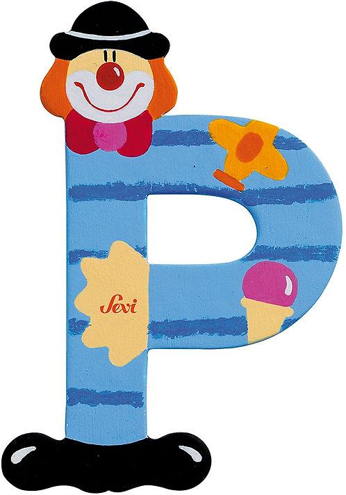 Trudi Sevi 81752 Lettera P Clown, colori assortiti