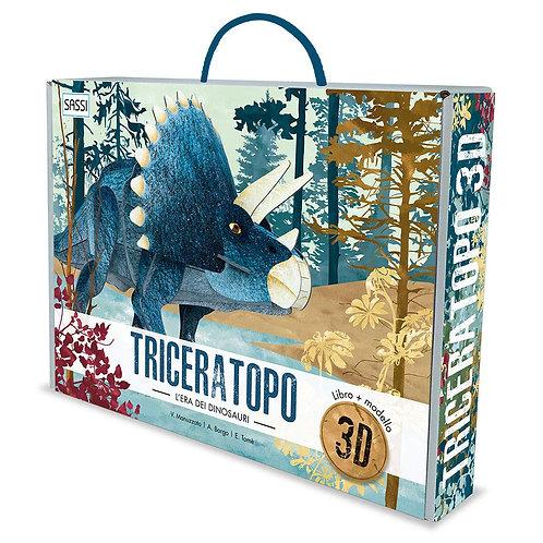 Triceratopo 3D. L'era dei dinosauri. Ediz. a colori. Con Gioco (Italiano)