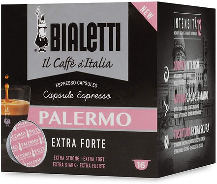 160 capsule caffè Bialetti Caffè d'Italia Palermo (Gusto Extra Forte)