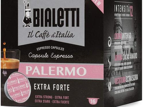 Bialetti Caffè d'Italia Palermo (Gusto Extra Forte) - Box 16 Capsule