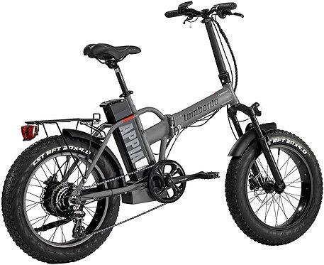 LOMBARDO BICI APPIA Ruota 20 Fat Bike Motore 250w 80Nm Batteria 624Wh 48v 13ah