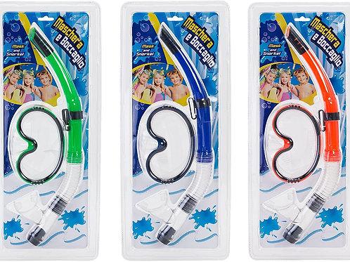 Globo Giocattoli 36704 3 Colore Estate Maschera con boccaglio
