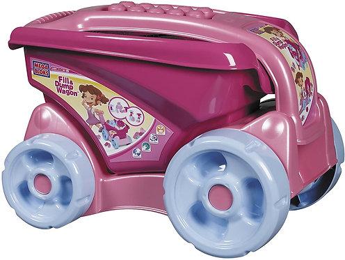 Mega Bloks Pink Fill And Dump Wagon