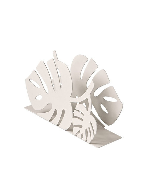 BRANDANI 52306 Porta SALVIETTE Tropical Bianco Metal