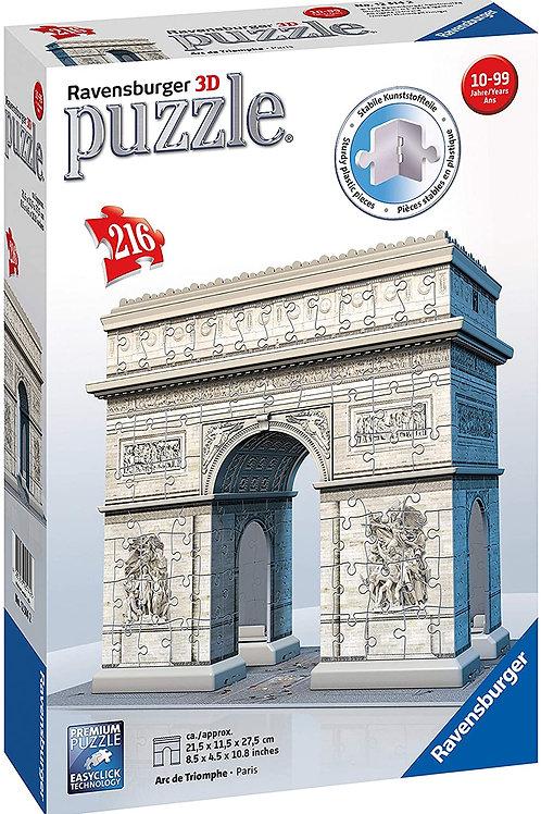 Ravensburger Italy- Puzzle 3D Arco di Trionfo, 12514 2