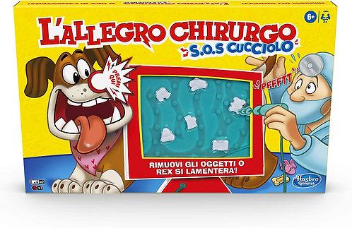 Hasbro Gaming - L'Allegro Chirurgo S.O.S. Cucciolo, Gioco in scatola con suoni