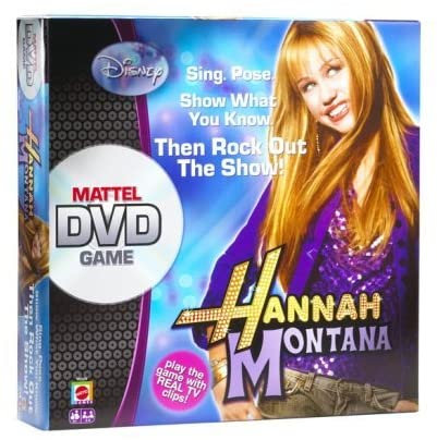 Mattel - Hannah Montana DVD Game