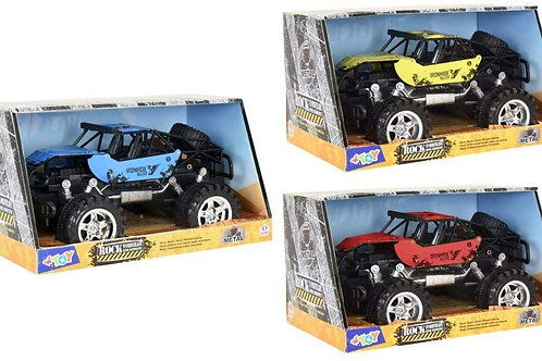 Globo - Friction Die Cast Cross-Country Cars 3 (38949), Multicolore (1)