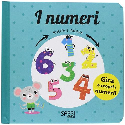 I numeri. Ruota e impara. Ediz. a colori (Italiano) Cartonato