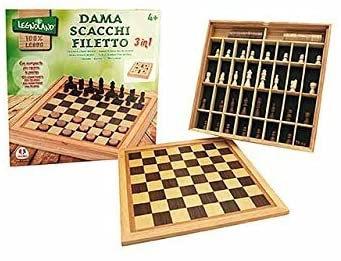 GIOCO SCACCHI/DAMA/FILETTO 37803