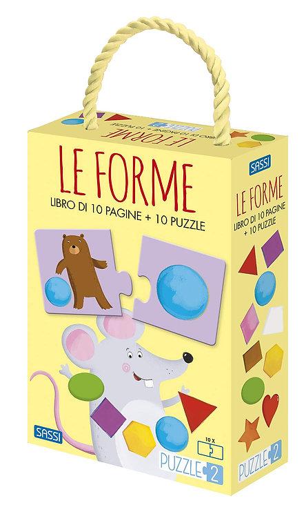 Le forme. Puzzle 2. Ediz. a colori. Con puzzle (Italiano)