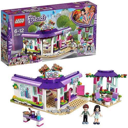 LEGO-Friends Il caffè degli Artisti di Emma, Multicolore, 41336