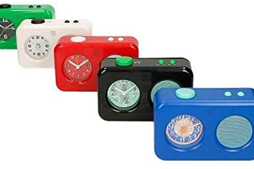 BRANDANI Voice Alarm Clock, ABS, Multicolore, Taglia Unica