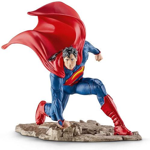 SCHLEICH- Superman in Ginocchio Figurina, SLH22505