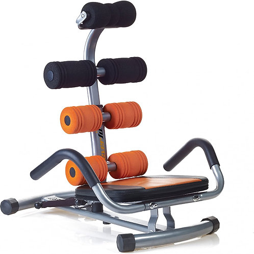 Everfit Panca Fitness Ab-Smart Antracite/Arancione