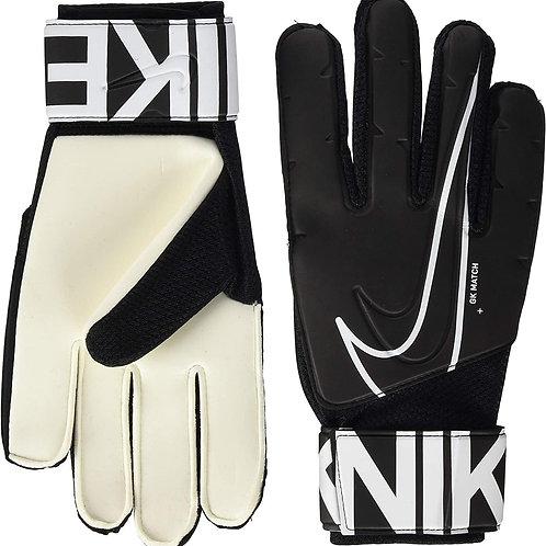 Nike Goalkeeper Match, Guanti da Calcio Unisex Adulto, Nero (Black/White), 9