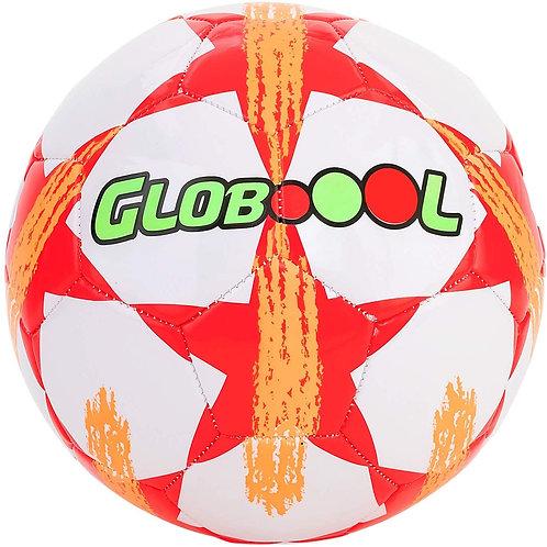 Globo - Palla da Calcio 2,7 mm, in Pelle PVC, 400 g, sgonfio, Unisex, per Bambin