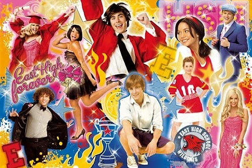 Clementoni - 295555 High School Musical East High forever, Puzzle da 250 pezzi
