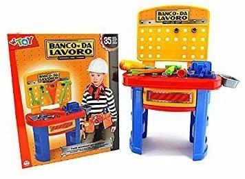 Globo Giocattoli GLOBO40206 78 cm W 'Toy banco da Lavoro con Accessori (Pezzi)