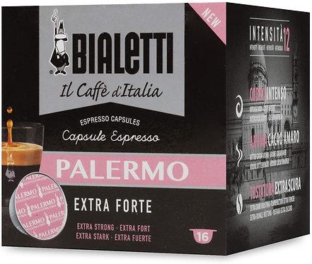 80 capsule caffè Bialetti Caffè d'Italia Palermo (Gusto Extra Forte)
