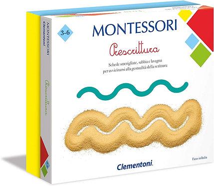 Clementoni-16209-Montessori-Prescrittura, Gioco educativo, Multicolore, 16209