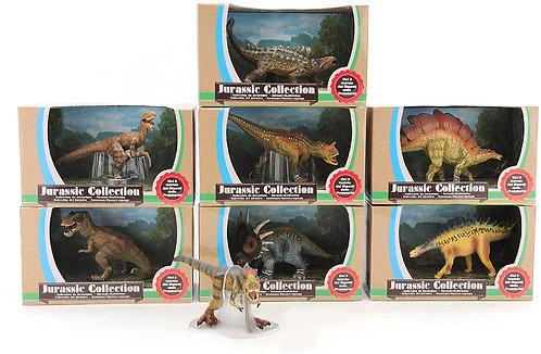 Globo giocattoli globo – 37416 15 – 20 cm 8 dinosauri assortiti Collection Toy