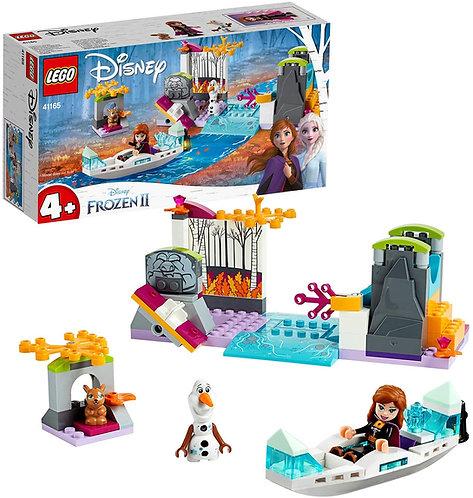 LEGO Frozen Spedizione sulla Canoa di Anna 41165, Set di Costruzioni