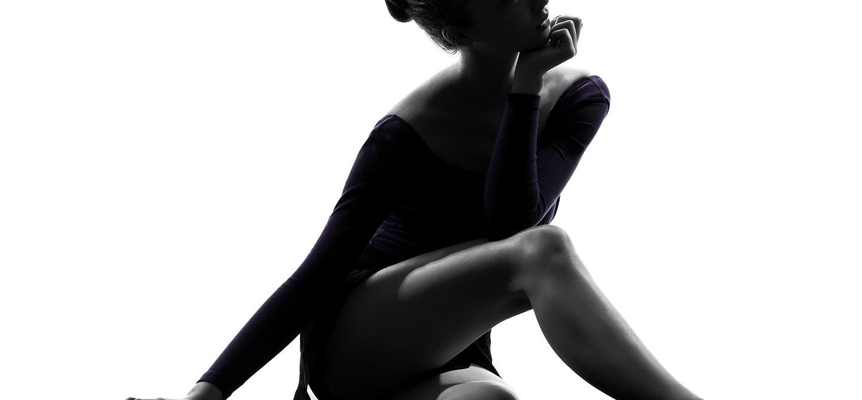 Sitting Ballet Dancer