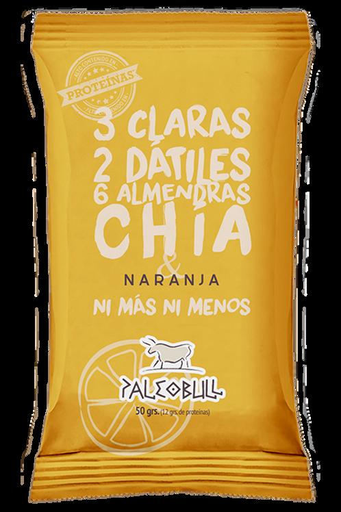 Barrita Paleobull de Naranja y Chía