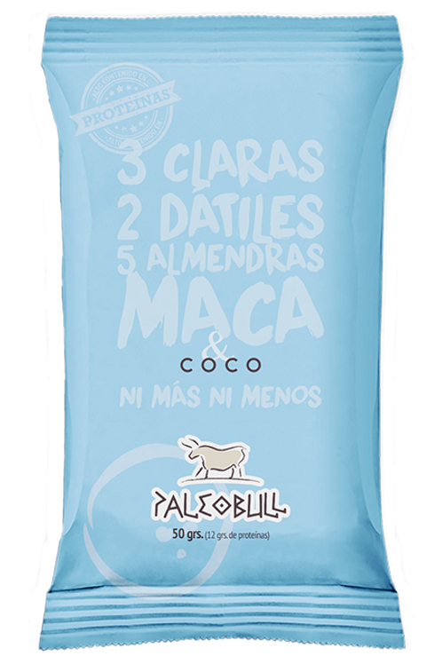 Barrita Paleobull de Coco y Maca