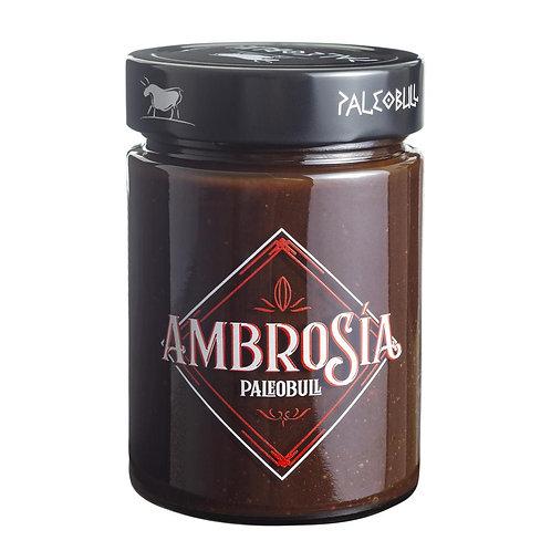 Crema de Cacao y Avellanas Saludable Ambrosía