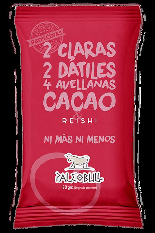 Barrita Paleobull cacao y reishi