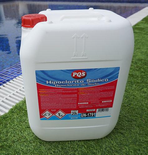 Hipoclorito Sódico PQS 25 Kg