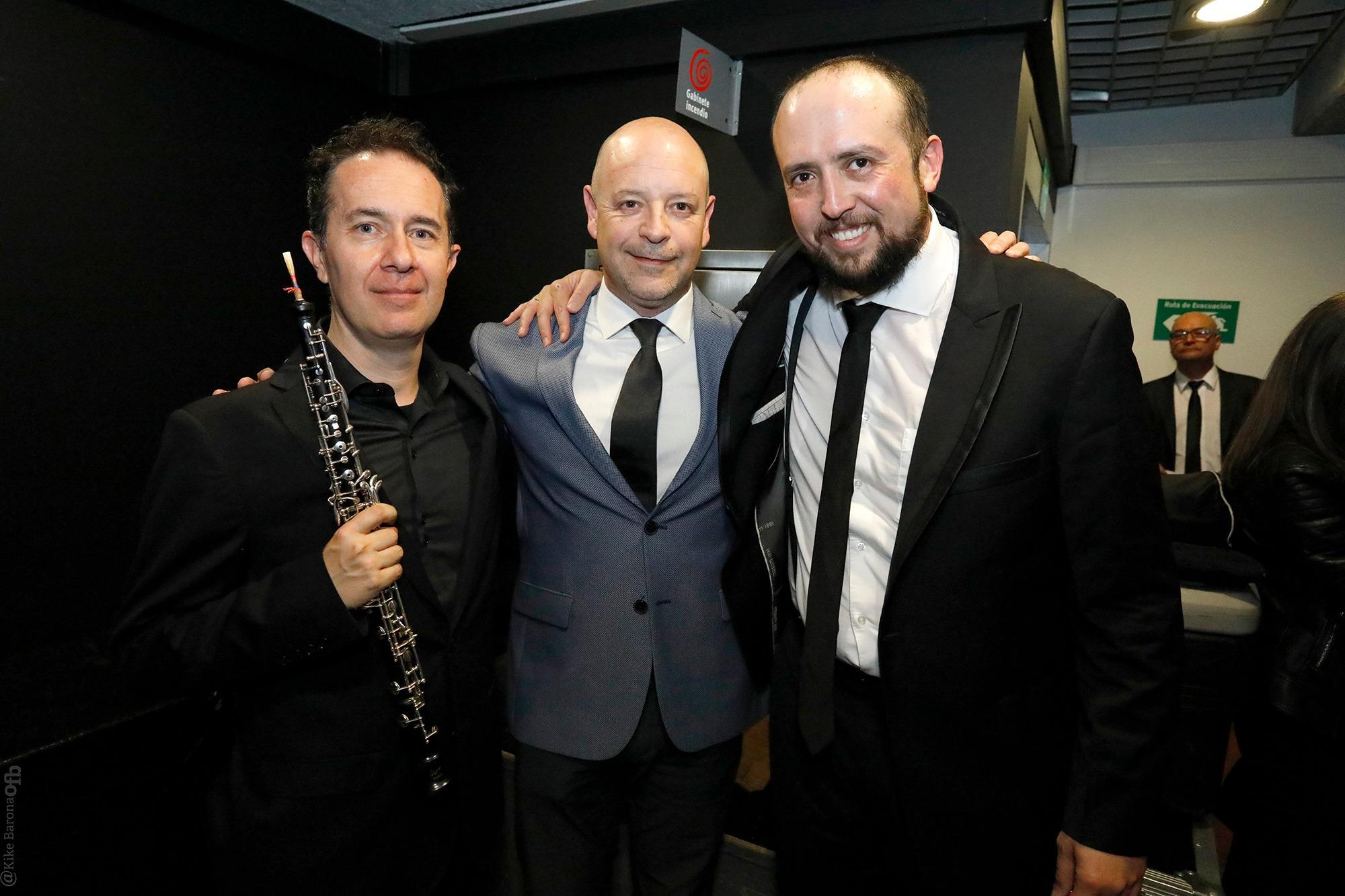 José Luis Domínguez (Chile) y Jorge Andr