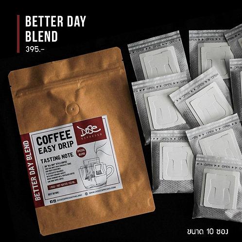 Better day Blend Drip Bag (10 Bags.)