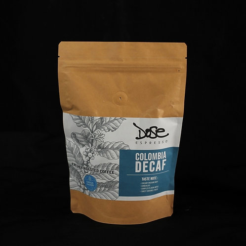 Colombia Excelso Organic (Swiss Water Decaf) 200g.