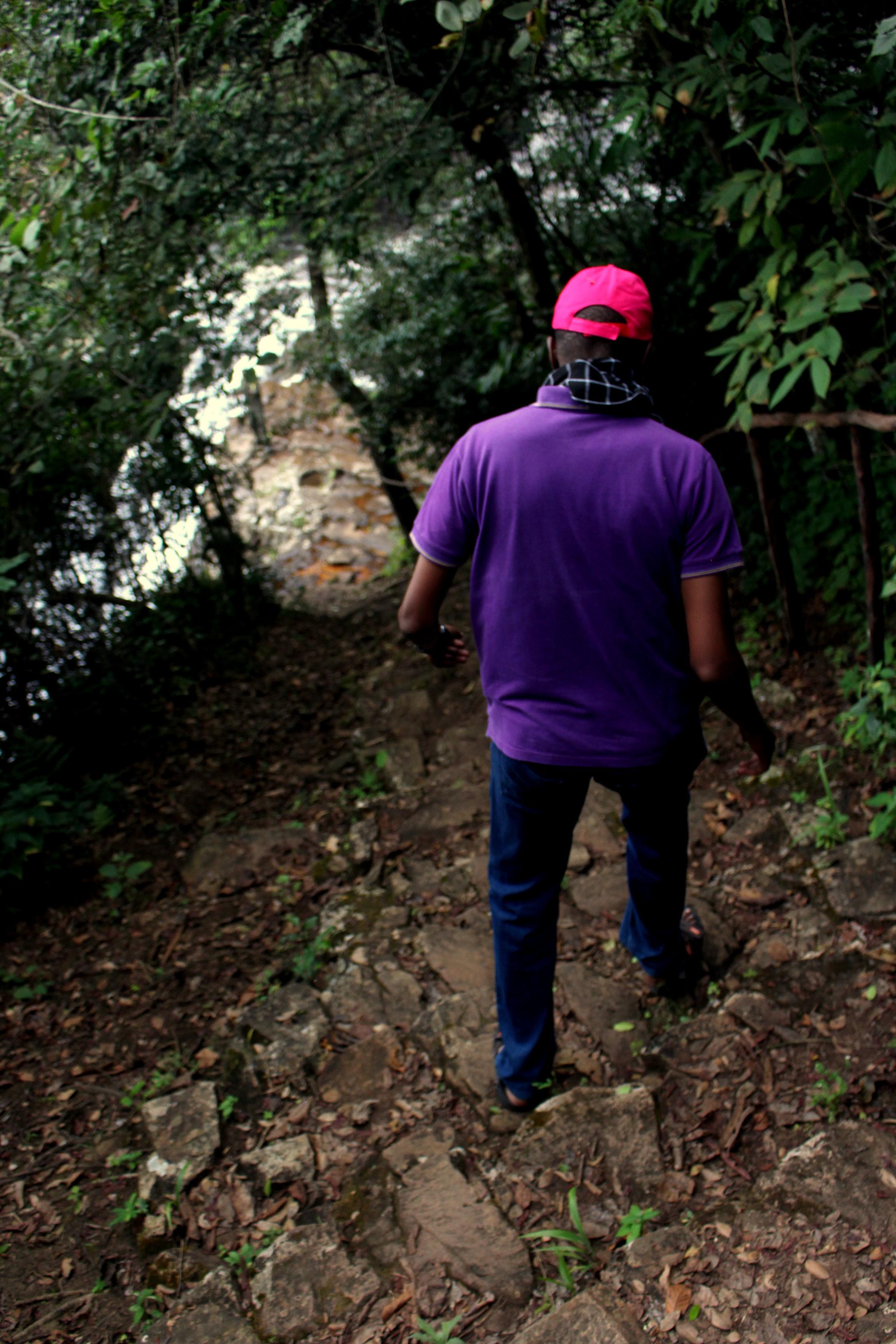 Les chutes de Karera