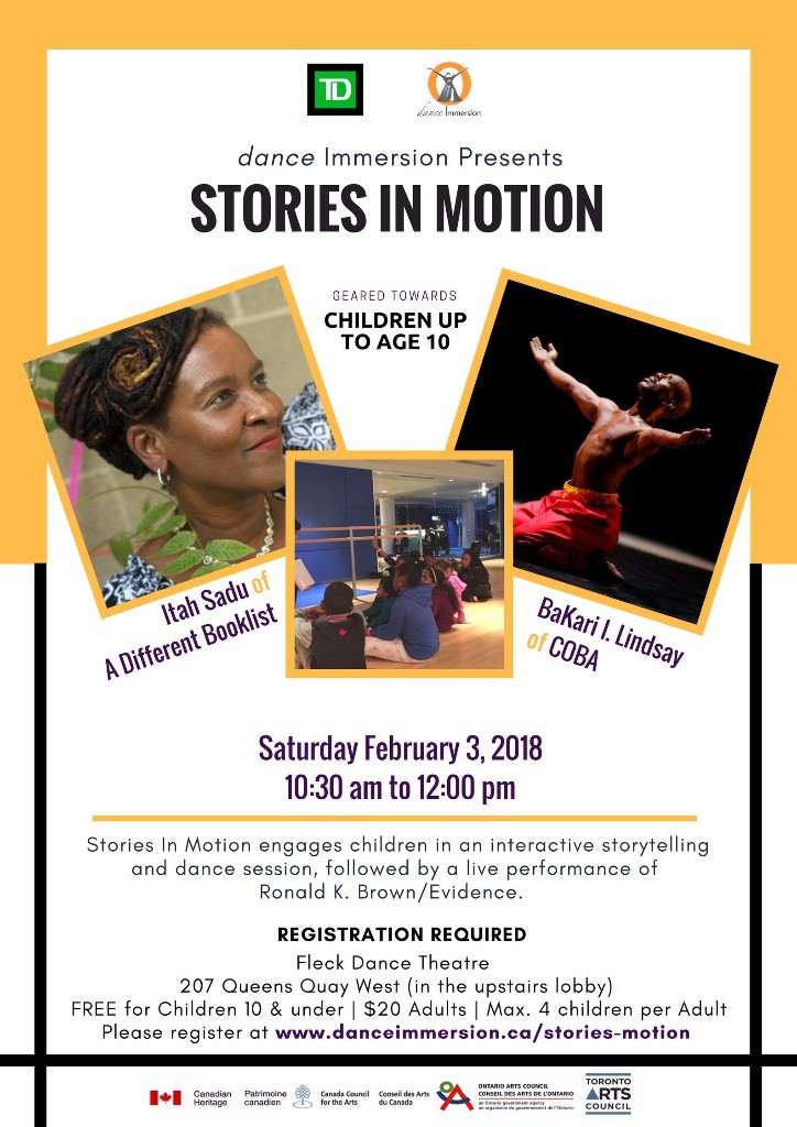 Dance Immersion: Stories In Motion
