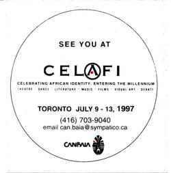 CELAFI sticker