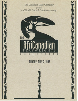 Africanadian Playwrights Conference