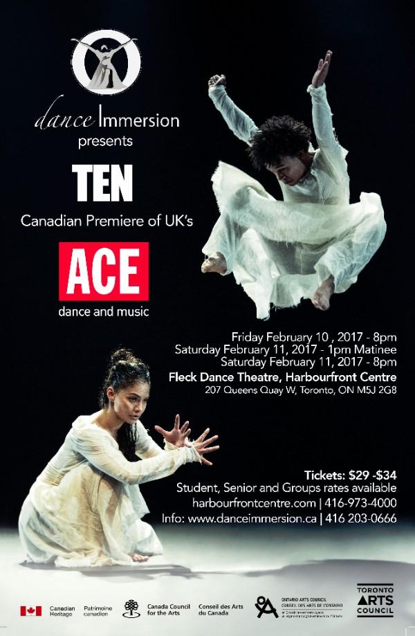 "dance Immersion presents  ""TEN"""