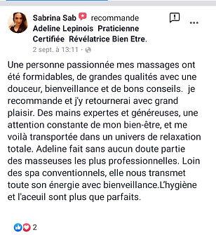 avis_cliente_sabrine_massage_minceur_bie