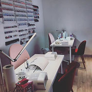 modern equitted nail desks waiting for its clients