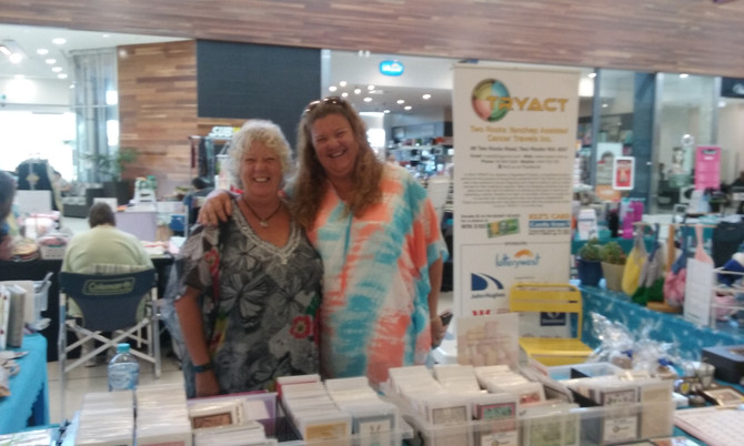 Mother's Day Stall at Yanchep Central Shopping Centre.