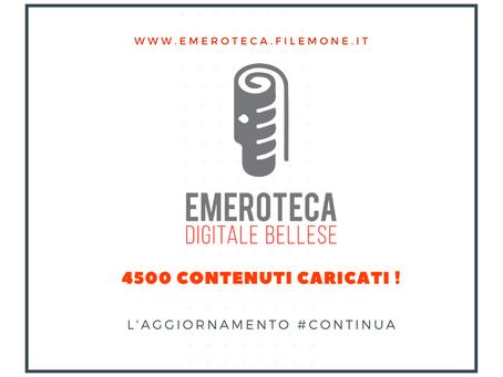 4500 CONTENUTI CARICATI