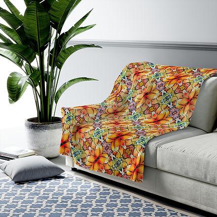 orange-flowers-velvet-blanket.jpg