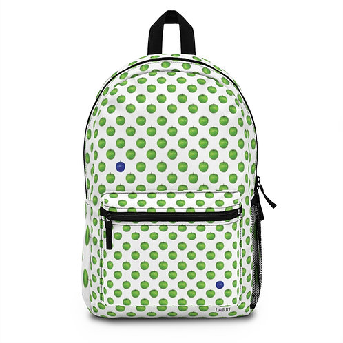Blue Apple backpack